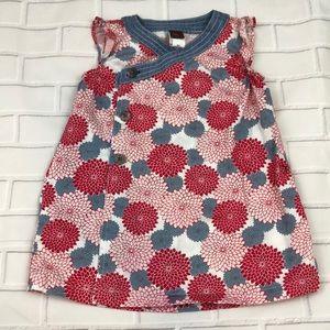 Tea Floral Wrap dress